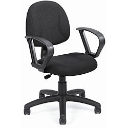 Boss Black Mid-back Ergonomic Task Chair