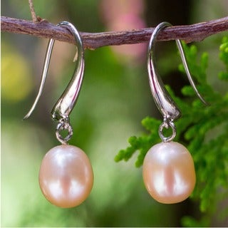 Pearl 'Perfection' Dangle Earrings (Thailand)