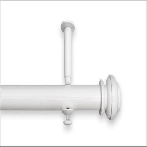 Bold Pole 90 to 144-inch Adjustable Curtain Rod Set - 144
