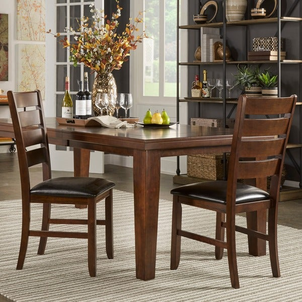 TRIBECCA HOME Camden Arts and Crafts Dining Chairs (Set of 2)