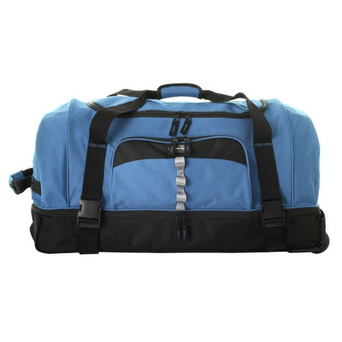 Olympia 30-inch Drop-bottom Rolling Upright Duffel Bag
