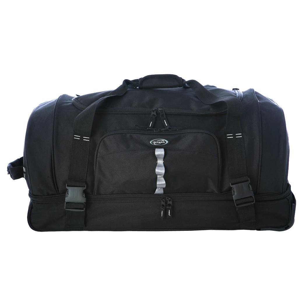 Olympia 30 Inch Drop Bottom Rolling Upright Duffel Bag