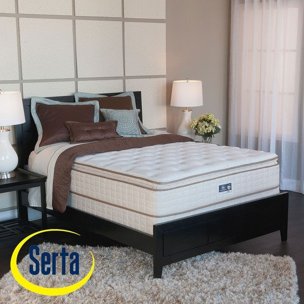 Serta Bristol Way Pillowtop California King-size Mattress and Box Spring Set