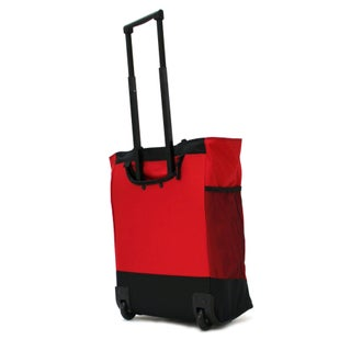 Olympia Rolling Shopper Tote (Option: Red)
