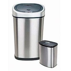 Silver Trash Cans Shop The Best Deals For Jun 2017