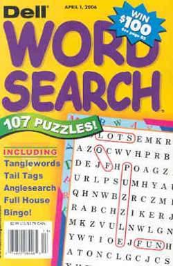 Dell Word Search Puzzles, 6 issues for 1 year(s)