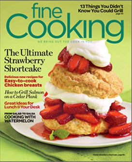 Fine Cooking, 6 issues for 1 year(s)