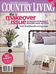 Country Living, 10 issues for 1 year(s)