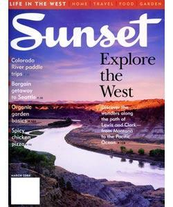 Sunset, 12 issues for 1 year(s)