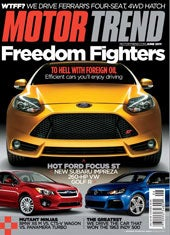 Motor Trend, 12 issues for 1 year(s)