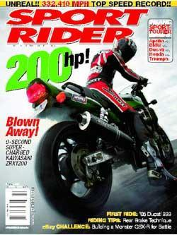 Sport Rider, 10 issues for 1 year(s)