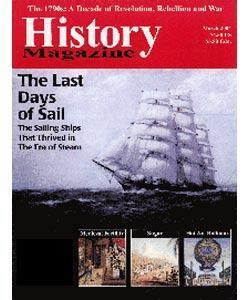 History Magazine, 6 issues for 1 year(s)
