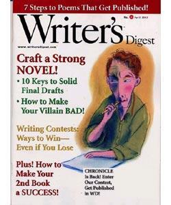 Writer's Digest, 8 issues for 1 year(s)