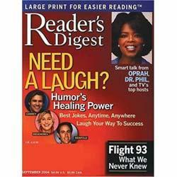 Reader's Digest [Large Print], 10 issues for 1 year(s)