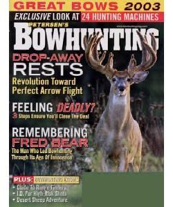 Bowhunting, 9 issues for 1 year(s)