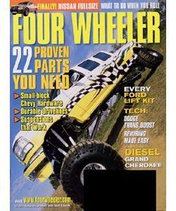 Four Wheeler, 12 issues for 1 year(s)