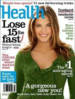 Health Magazine, 10 issues for 1 year(s)