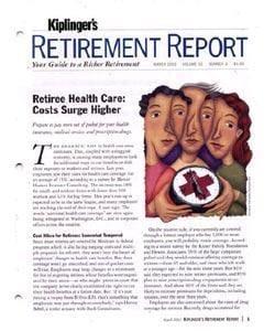 Kiplinger's Retirement Report, 12 issues for 1 year(s)