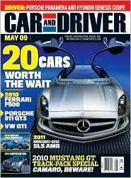 Car and Driver, 12 issues for 1 year(s)