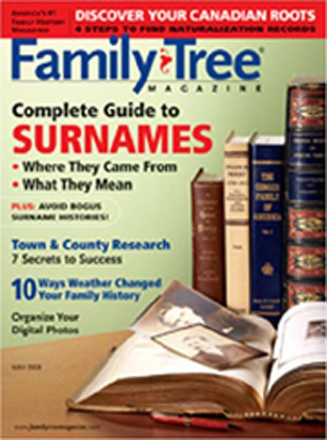 Family Tree, 6 issues for 1 year(s)