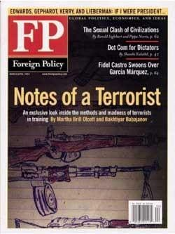 Foreign Policy, 6 issues for 1 year(s)