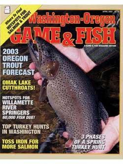 Washington Oregon Game & Fish, 12 issues for 1 year(s)
