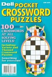 Dell Pocket Crossword Puzzles, 12 issues for 1 year(s)