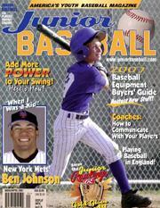 Junior Baseball, 6 issues for 1 year(s)