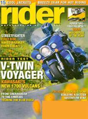 Rider, 12 issues for 1 year(s)