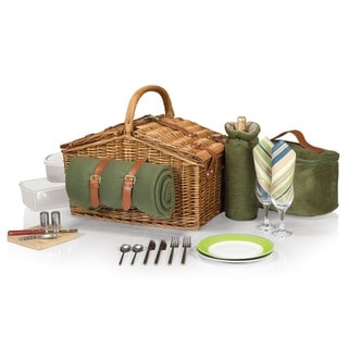 Picnic Time Somerset Deluxe Picnic Basket