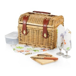 Picnic Time Napa-Botannica Wine-n-Cheese Picnic Basket