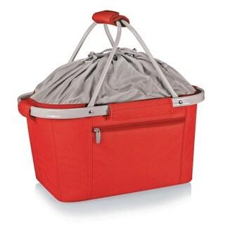 Picnic Time Red Metro Basket