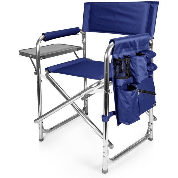 Shop Picnic Time Portable Navy Sports Chair Free