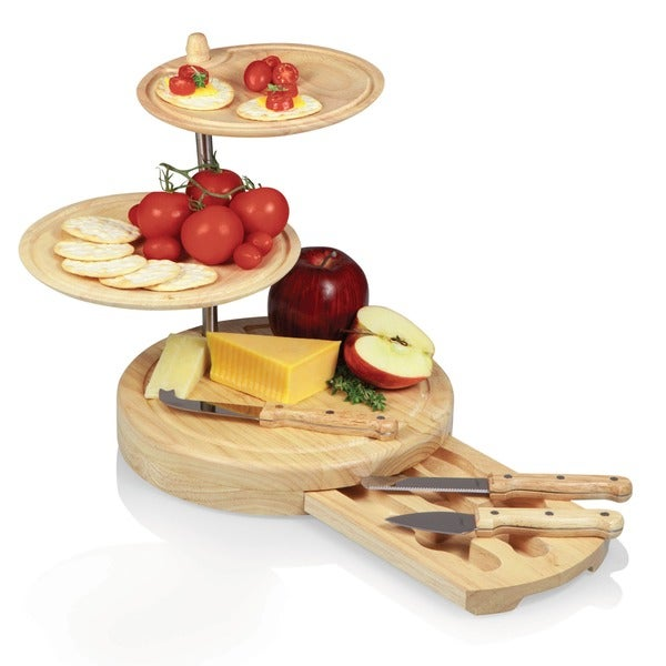 Picnic Time Regalio Cheese Serving Set