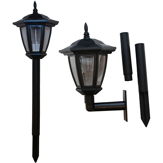 Tricod Ground/ Wall Mount Solar Lights (Pack of 2) - Free Shipping On Orders Over USD 45 ...