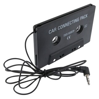 INSTEN iPod/ MP3 Universal Car Audio Cassette Adapter (Option: Black)