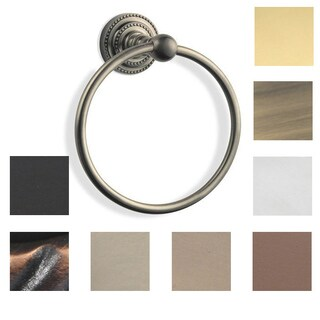 Allied Brass Dottingham Towel Ring (5 options available)