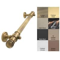 Allied Brass Dottingham 36-inch ADA-compliant Reeded Grab Bar