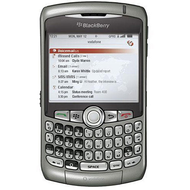 Blackberry 8310 Titanium Unlocked GSM PDA Phone (Refurbished)