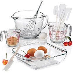 Anchor Hocking 9-piece Mix/ Measure Baking Set