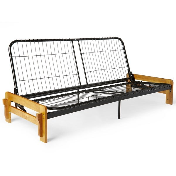 Boston Armless Steel Futon Frame Only Free Shipping Today Com 12223549