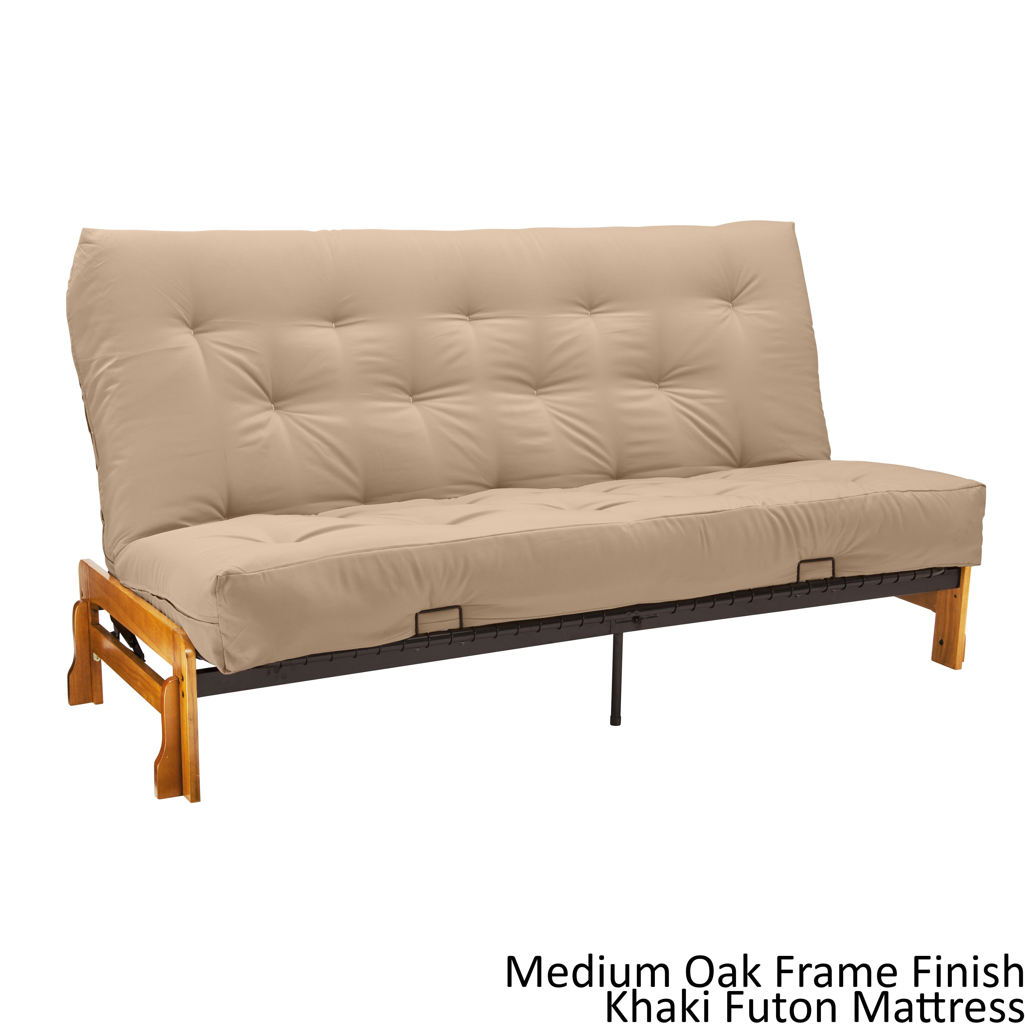 Pine Canopy Willamette Queen Armless Futon Frame Premier