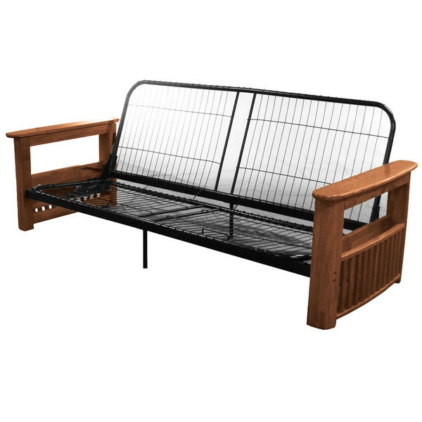 columbus queen or full size storage arm futon frame
