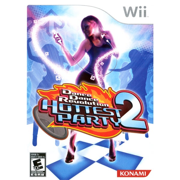Wii - Dance Dance Revolution: Hottest Party 2 (game only)