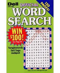 Official Word Search Puzzles, 6 issues for 1 year(s)