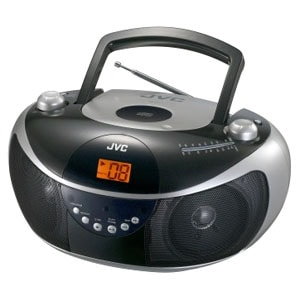 JVC RD-EZ11 Radio/CD Player Boombox