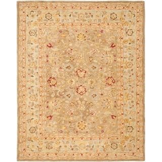 Safavieh Anatolia Handmade Tan / Ivory Wool Rug (12' x 15')