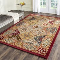 Safavieh Handmade Heritage Traditional Bakhtiari Multi/ Red Wool Rug - 12' x 15'