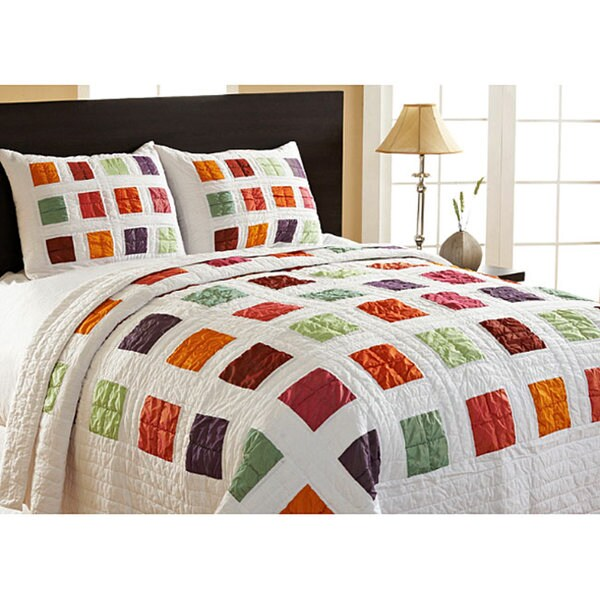 Arabesque Twin-size Reversible 2-piece Quilt Set