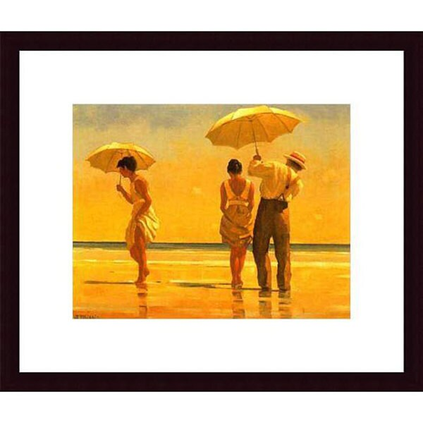 Jack Vettriano 'Mad Dogs' Wood Framed Art Print. Opens flyout.